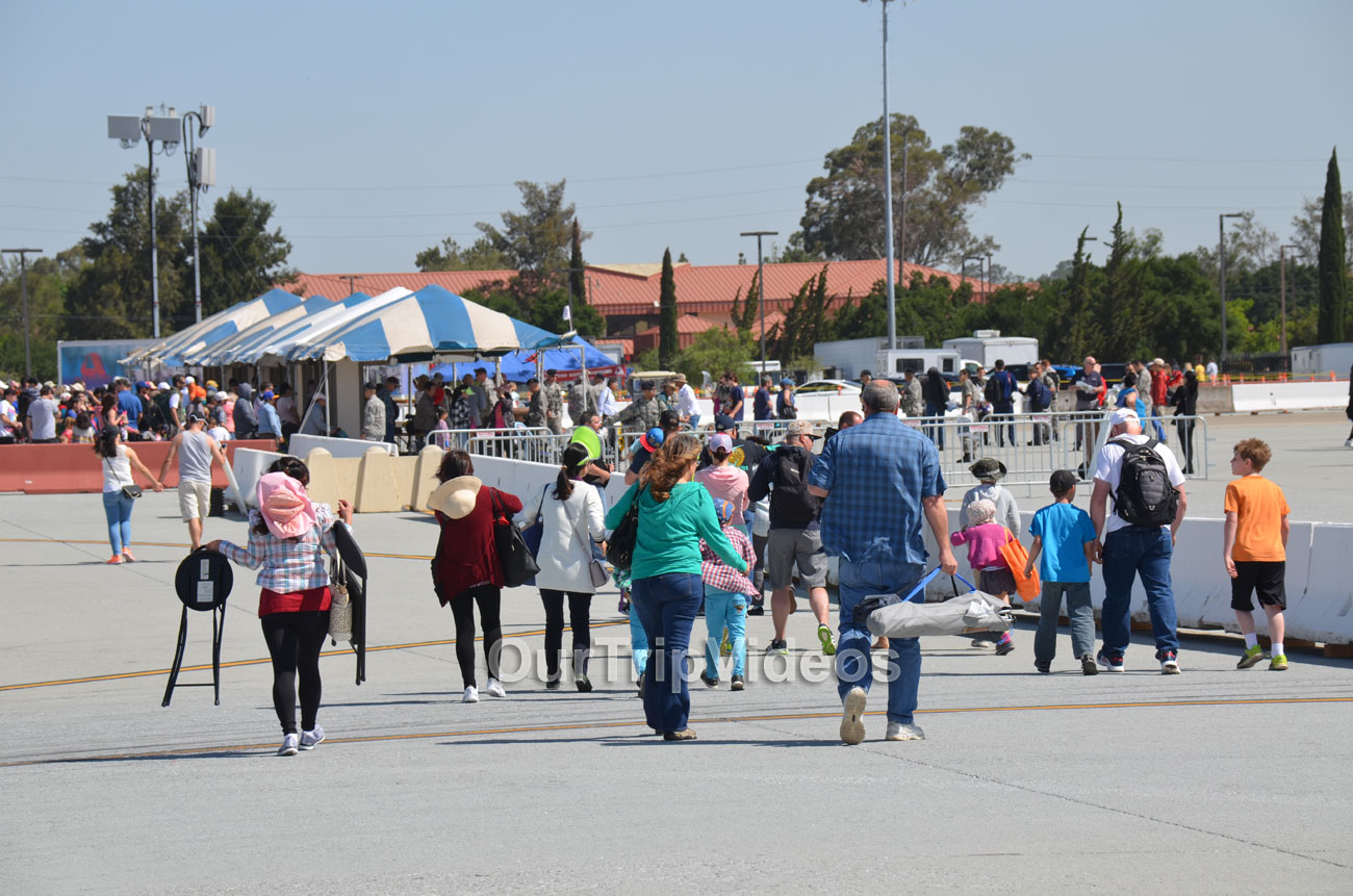 The Travis Air Force Base Air Show, Travis AFB, CA, USA - Picture 8 of 25