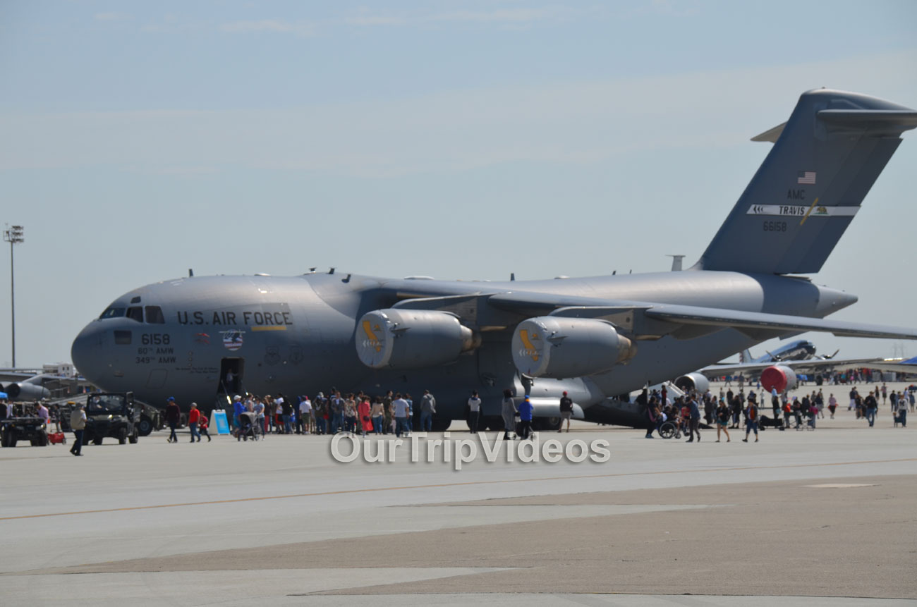 The Travis Air Force Base Air Show, Travis AFB, CA, USA - Picture 11 of 25