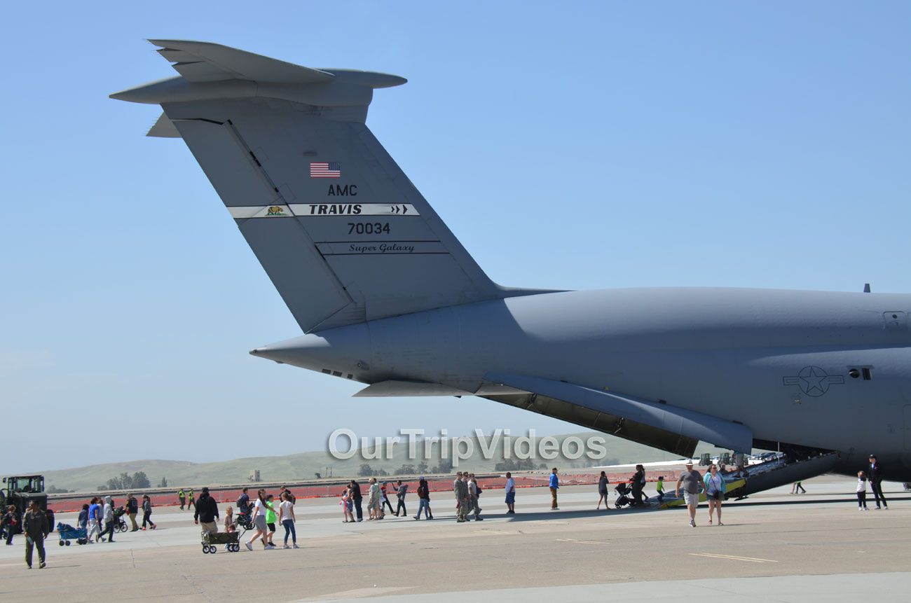 The Travis Air Force Base Air Show, Travis AFB, CA, USA - Picture 20 of 25