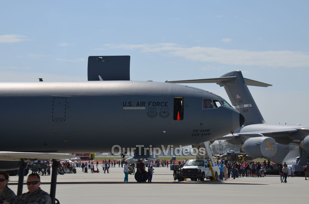 The Travis Air Force Base Air Show, Travis AFB, CA, USA - Picture 21 of 25