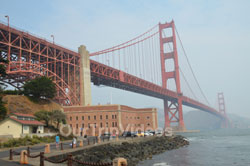 Pictures of Fort Point National Historic Site, San Francisco, CA, USA