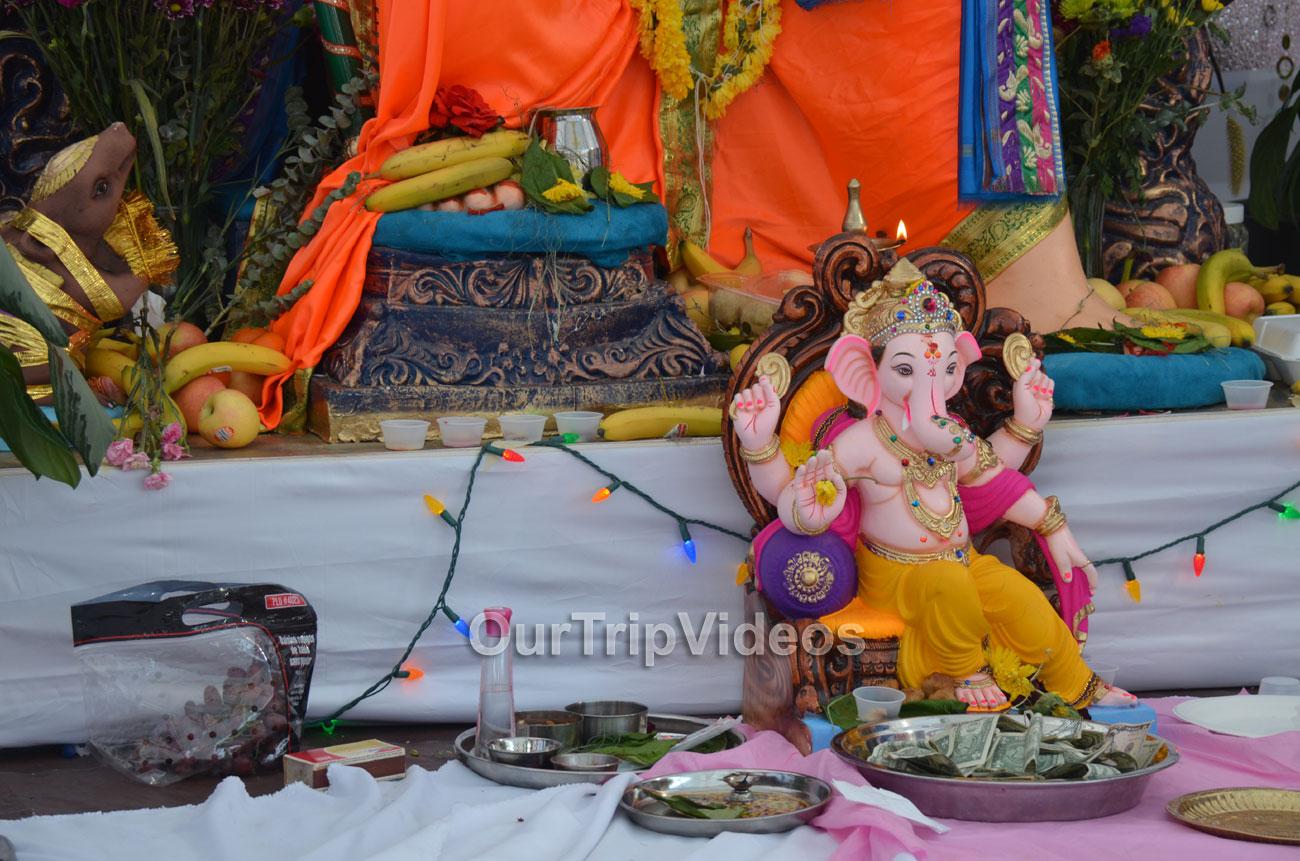 Ganesh Mahotsava and Mela at Shiv Durga Temple, Sunnyvale, CA, USA - Picture 17 of 25