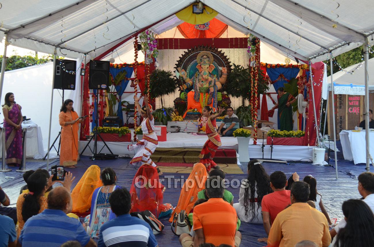Ganesh Mahotsava and Mela at Shiv Durga Temple, Sunnyvale, CA, USA - Picture 21 of 25