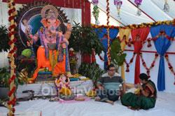 Ganesh Mahotsava and Mela at Shiv Durga Temple, Sunnyvale, CA, USA - Picture 15