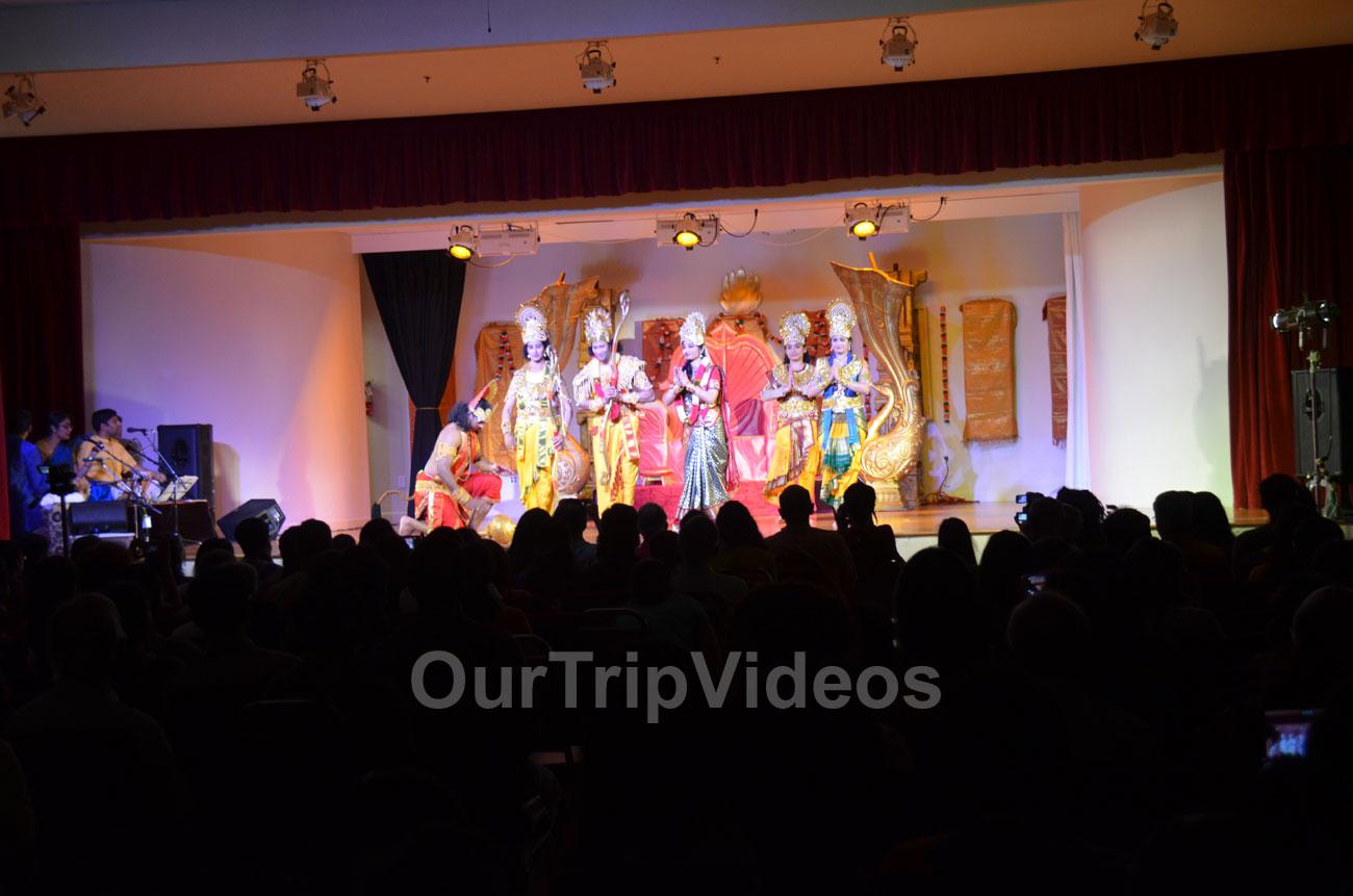 Sri Raama Pattabhisheka drama at Shiva-Vishnu Temple, Livermore, CA, USA - Picture 1 of 25