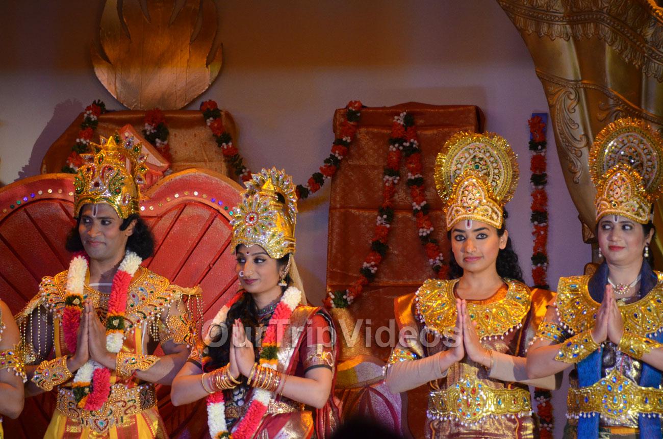 Sri Raama Pattabhisheka drama at Shiva-Vishnu Temple, Livermore, CA, USA - Picture 4 of 25