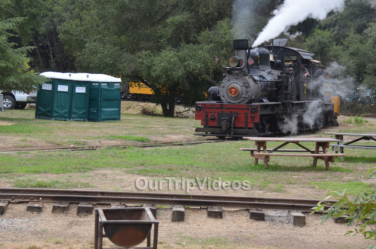Roaring Camp and Big Trees Railroad, Felton, CA, USA - Picture 7 of 25