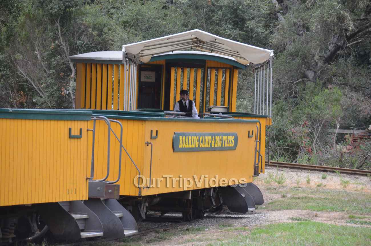 Roaring Camp and Big Trees Railroad, Felton, CA, USA - Picture 11 of 25