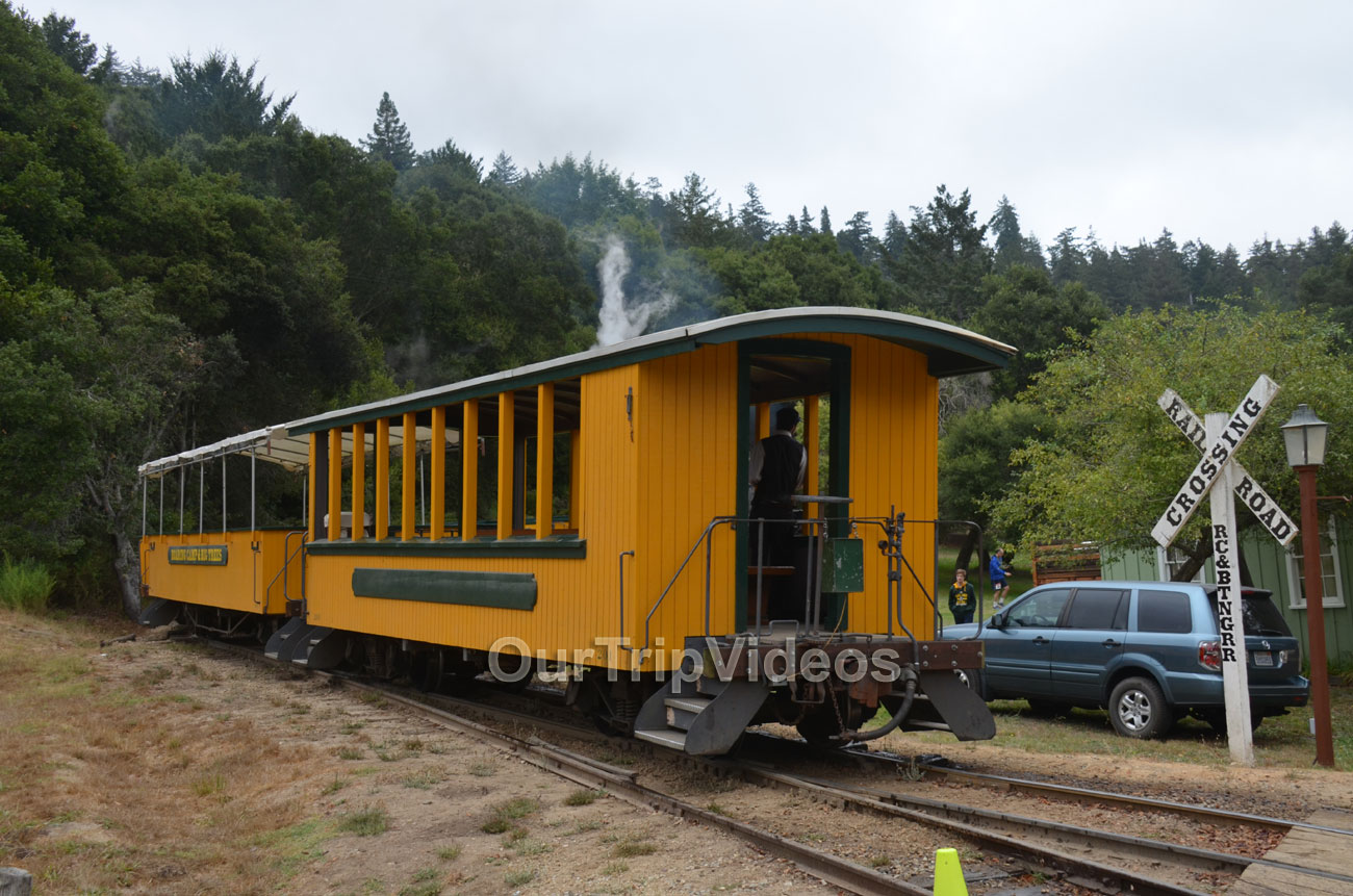 Roaring Camp and Big Trees Railroad, Felton, CA, USA - Picture 12 of 25