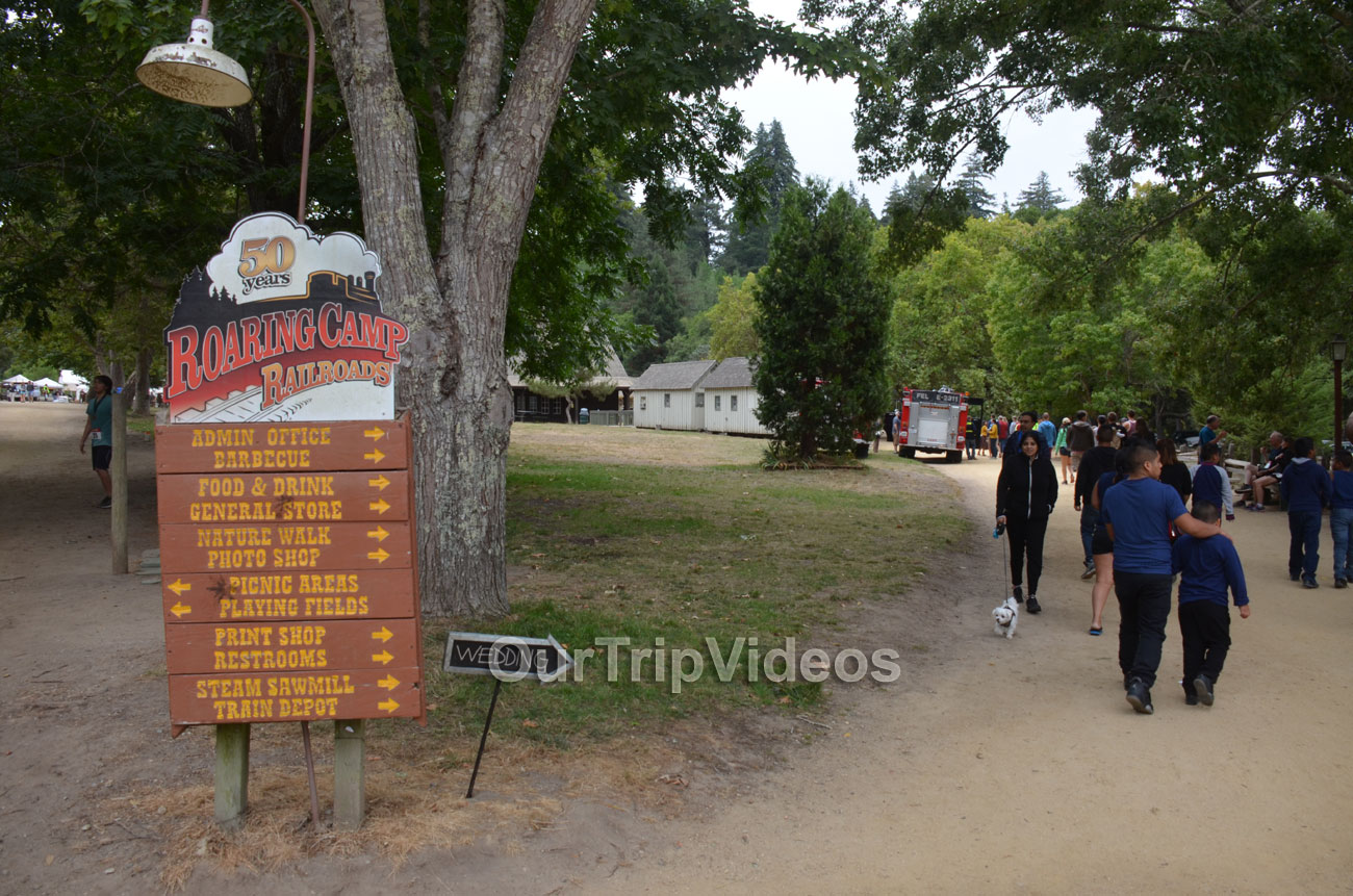 Roaring Camp and Big Trees Railroad, Felton, CA, USA - Picture 17 of 25