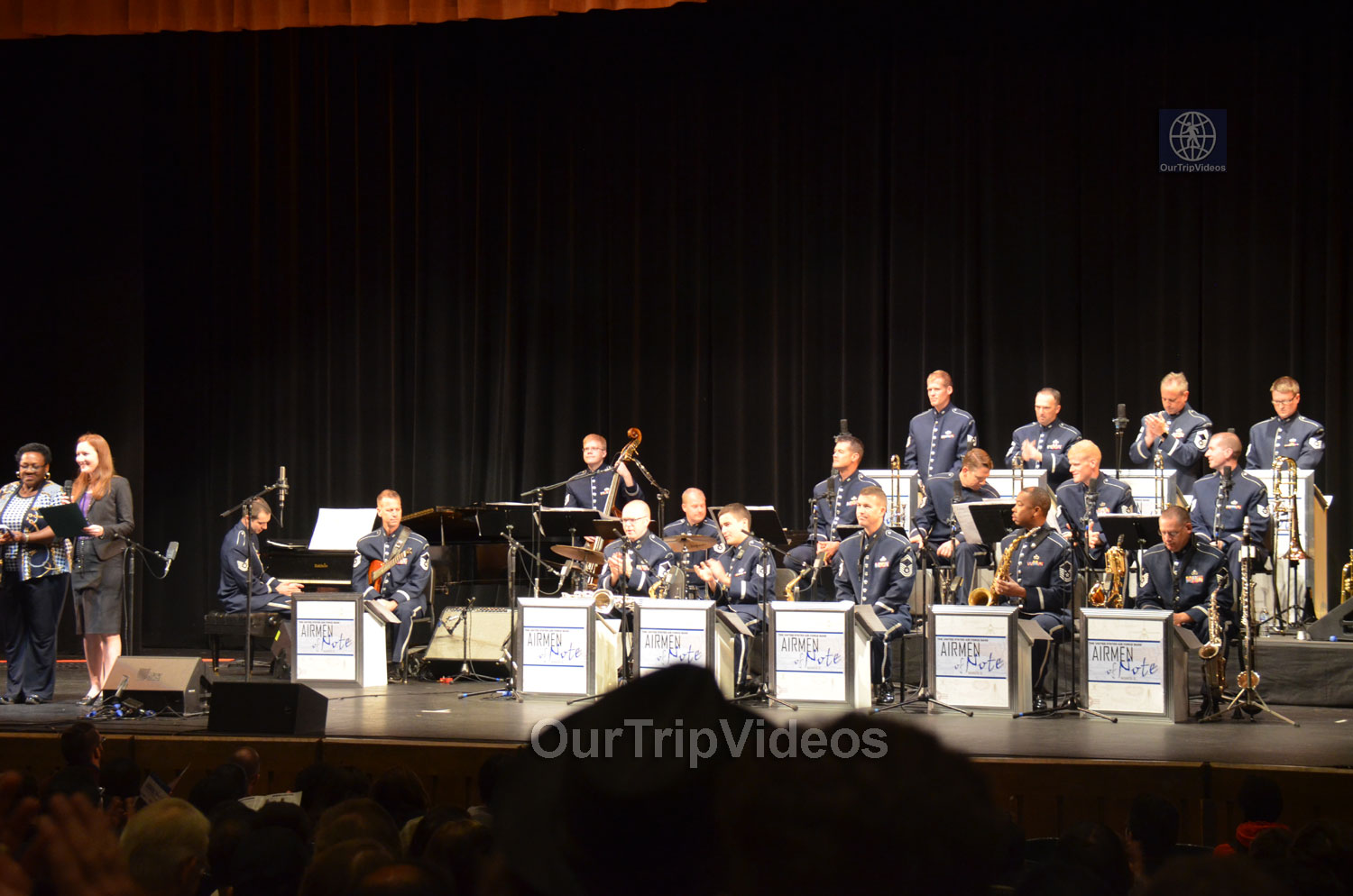 USAF Airmen of Note Live, Hayward, CA, USA - Picture 2 of 25