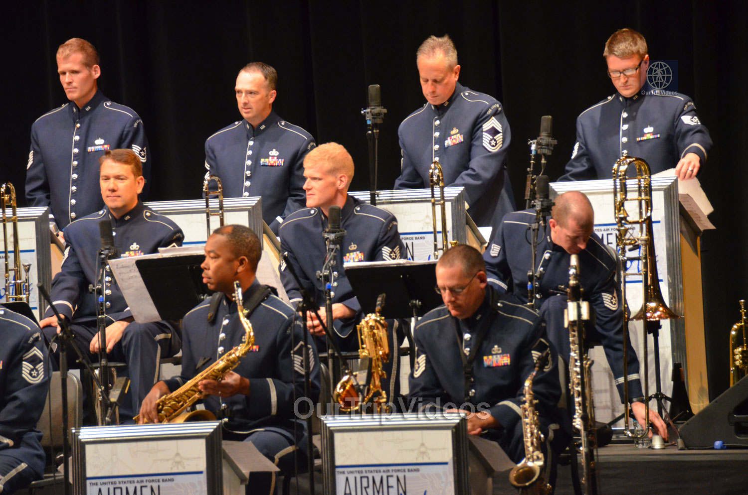 USAF Airmen of Note Live, Hayward, CA, USA - Picture 3 of 25
