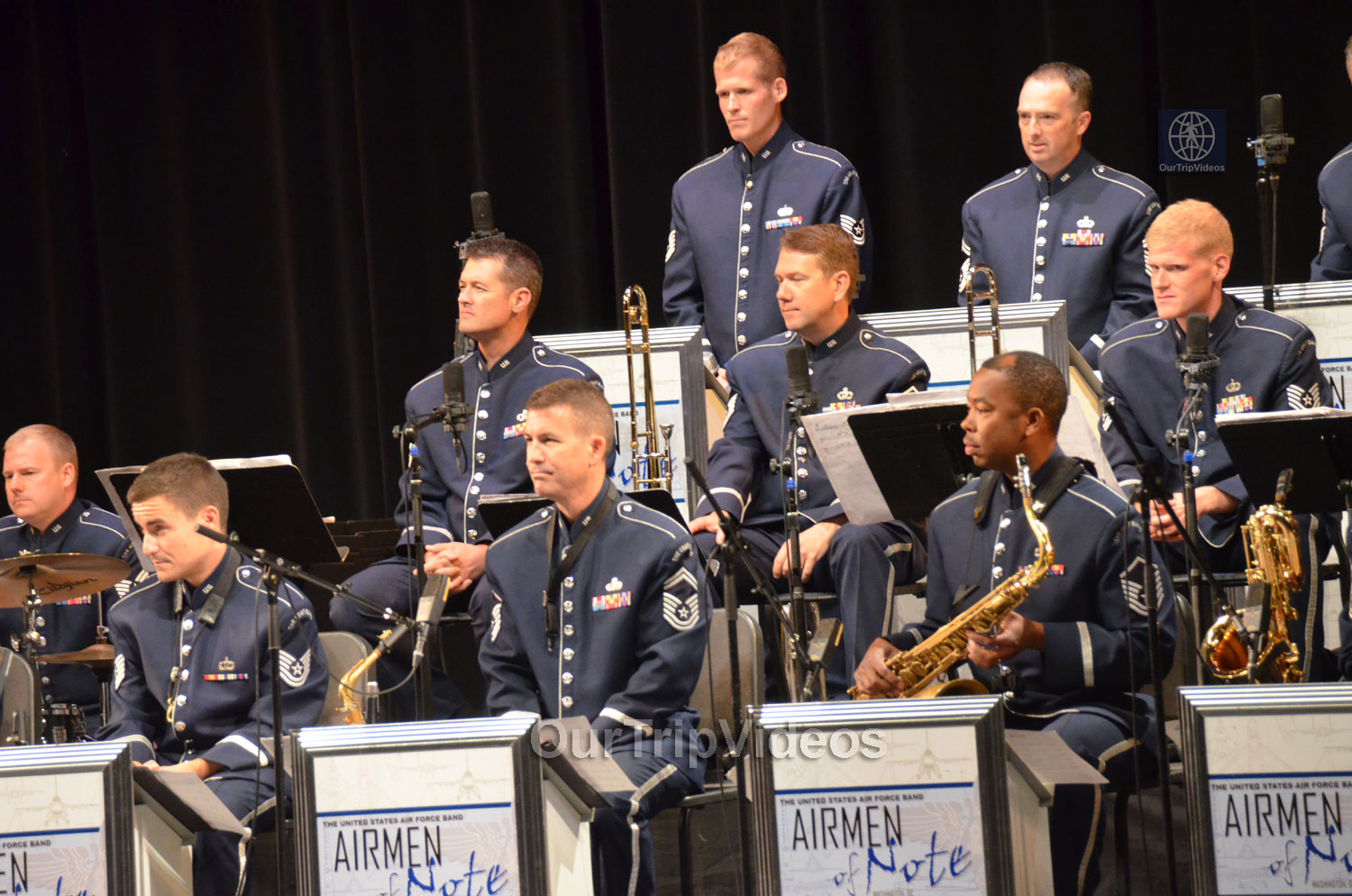 USAF Airmen of Note Live, Hayward, CA, USA - Picture 4 of 25