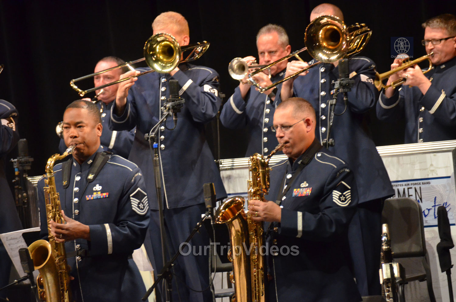 USAF Airmen of Note Live, Hayward, CA, USA - Picture 7 of 25
