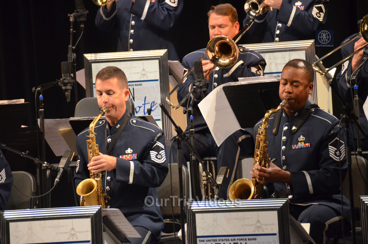 USAF Airmen of Note Live, Hayward, CA, USA - Picture 10 of 25