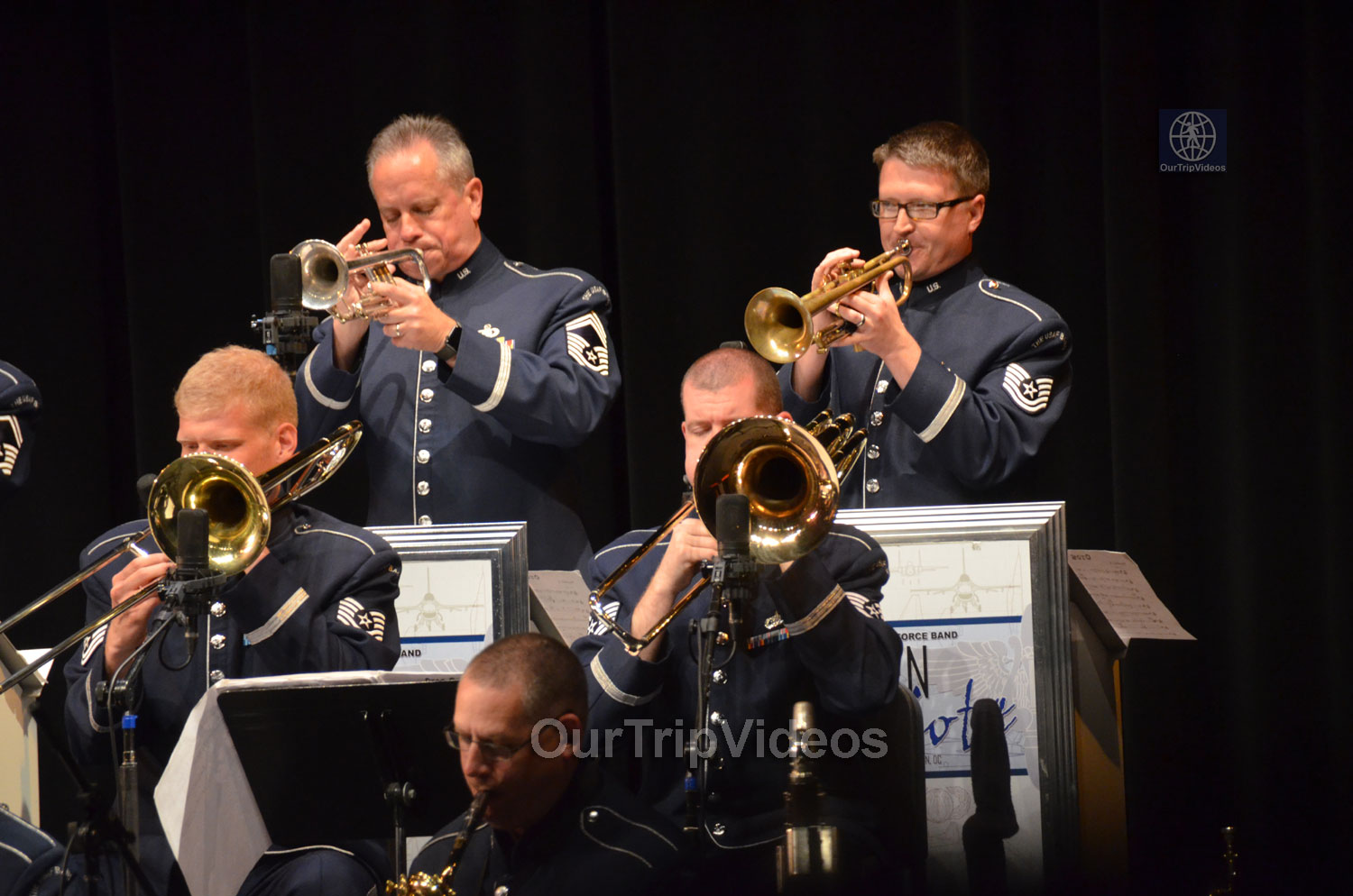 USAF Airmen of Note Live, Hayward, CA, USA - Picture 11 of 25