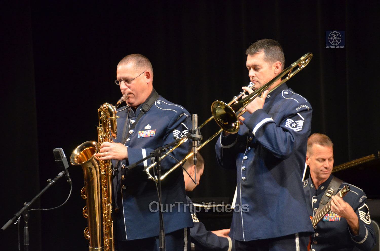 USAF Airmen of Note Live, Hayward, CA, USA - Picture 13 of 25