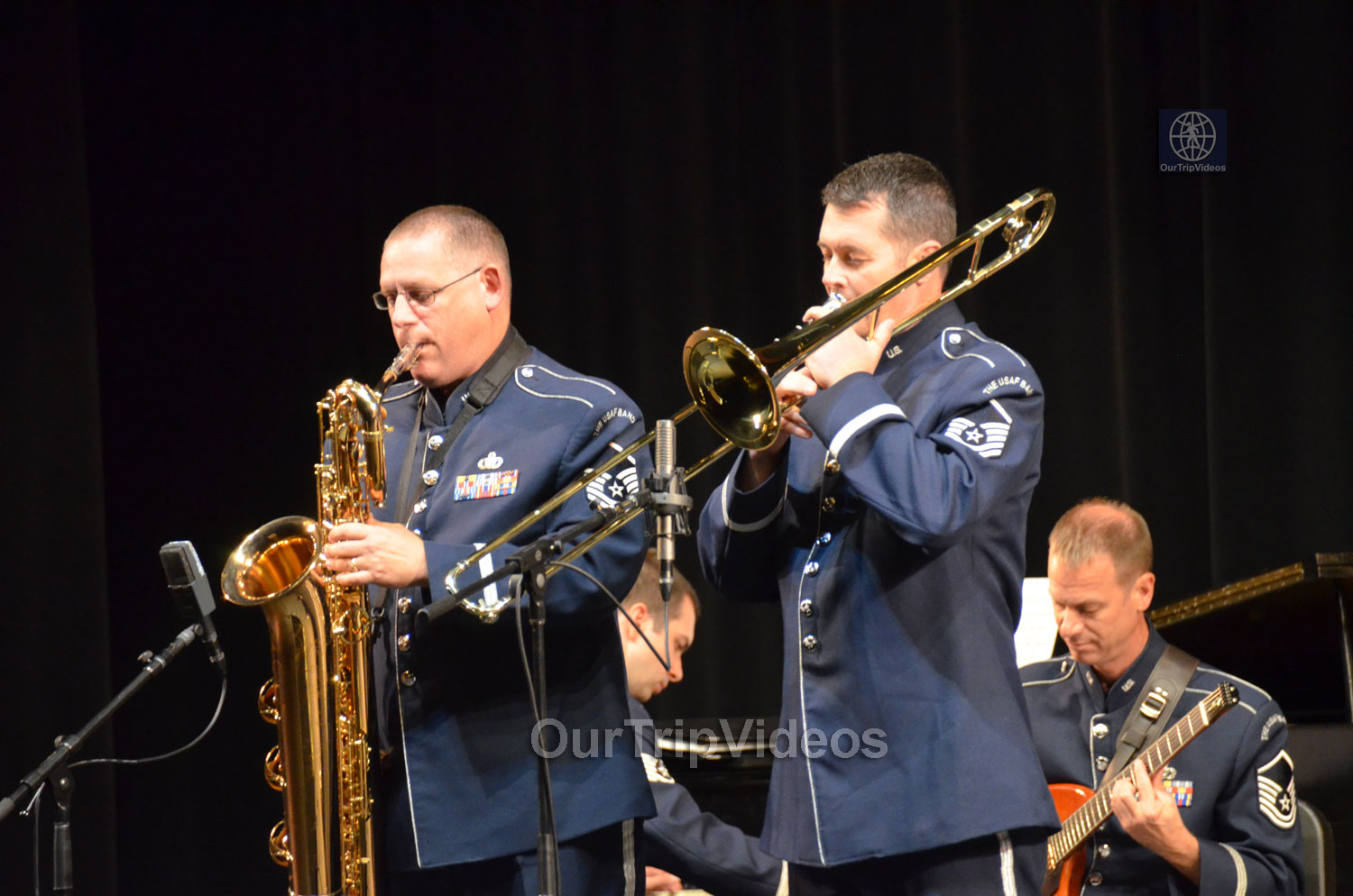 USAF Airmen of Note Live, Hayward, CA, USA - Picture 14 of 25