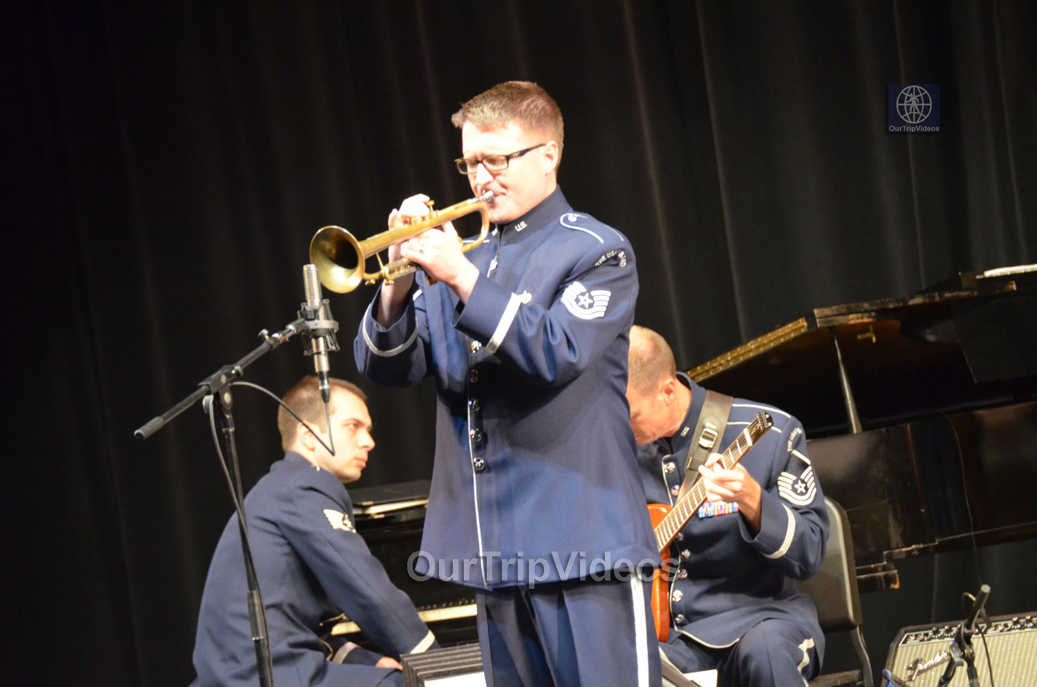 USAF Airmen of Note Live, Hayward, CA, USA - Picture 15 of 25