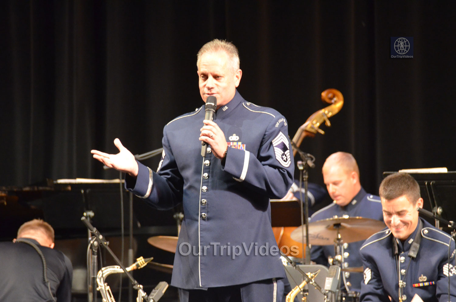 USAF Airmen of Note Live, Hayward, CA, USA - Picture 16 of 25