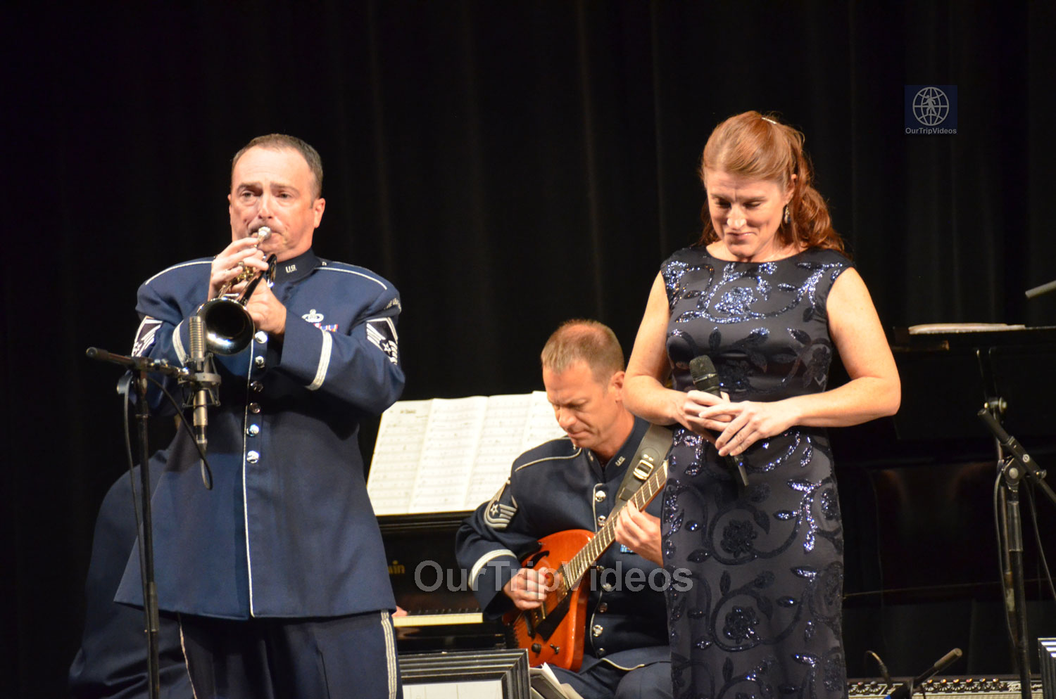 USAF Airmen of Note Live, Hayward, CA, USA - Picture 21 of 25