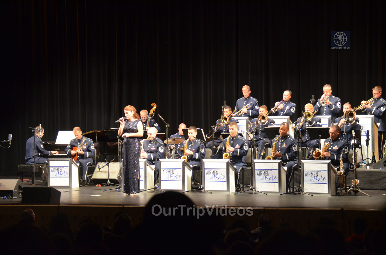 USAF Airmen of Note Live, Hayward, CA, USA - Picture 22 of 25