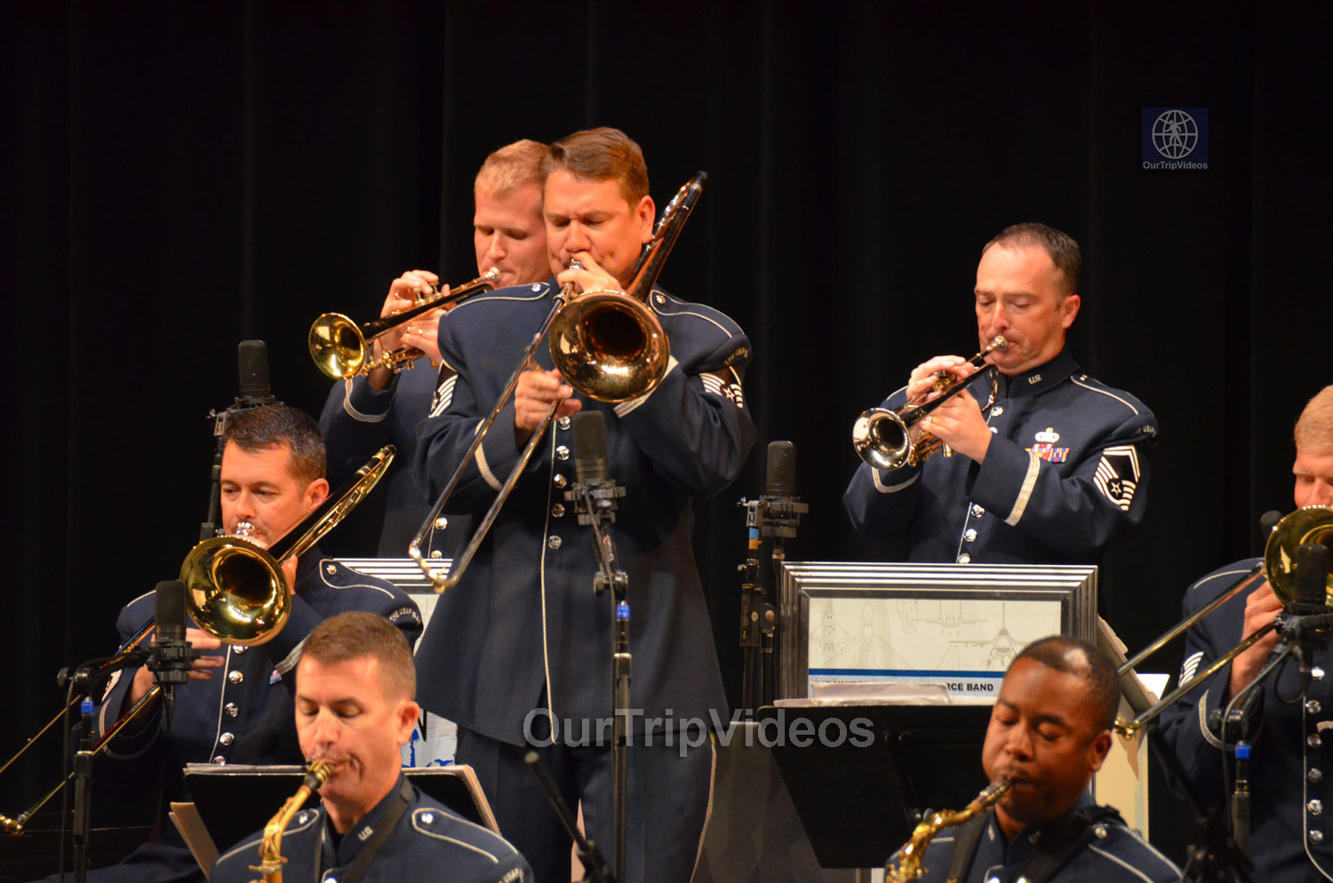 USAF Airmen of Note Live, Hayward, CA, USA - Picture 23 of 25