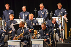 USAF Airmen of Note Live, Hayward, CA, USA - Picture 3