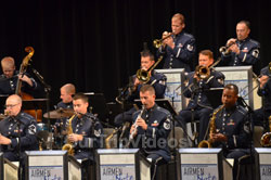 Pictures of USAF Airmen of Note Live, Hayward, CA, USA