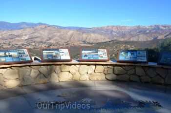 Pictures of Vista Point Over Santa Ynez Valley, Santa Barbara, CA, USA