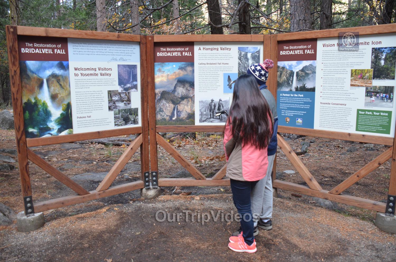 Yosemite National Park - Bridalveil Fall, Yosemite Valley, CA, USA - Picture 3 of 25