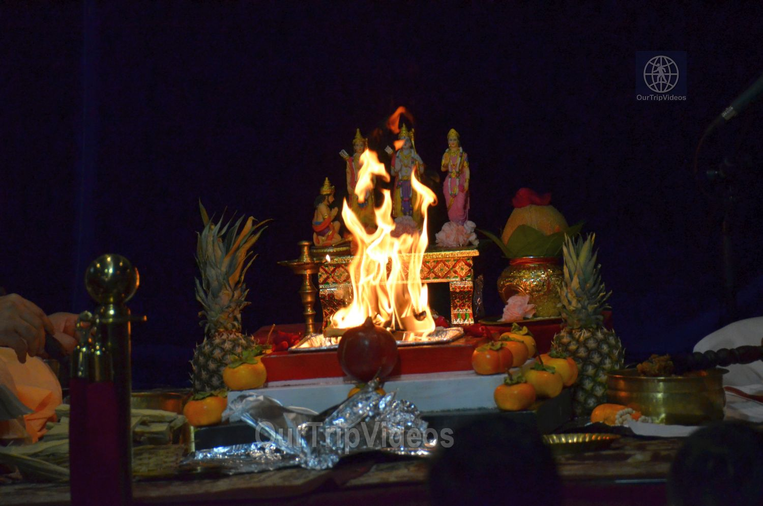 Diwali and Govardhan Puja Celebrations at KBMandir, Sunnyvale, CA, USA - Picture 6 of 25