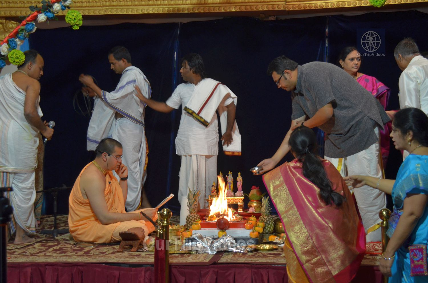 Diwali and Govardhan Puja Celebrations at KBMandir, Sunnyvale, CA, USA - Picture 12 of 25
