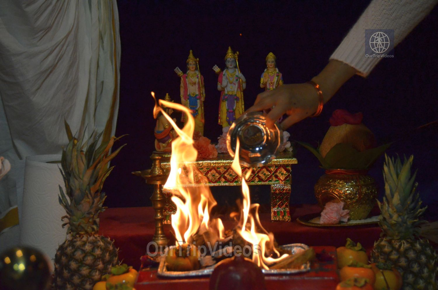 Diwali and Govardhan Puja Celebrations at KBMandir, Sunnyvale, CA, USA - Picture 14 of 25