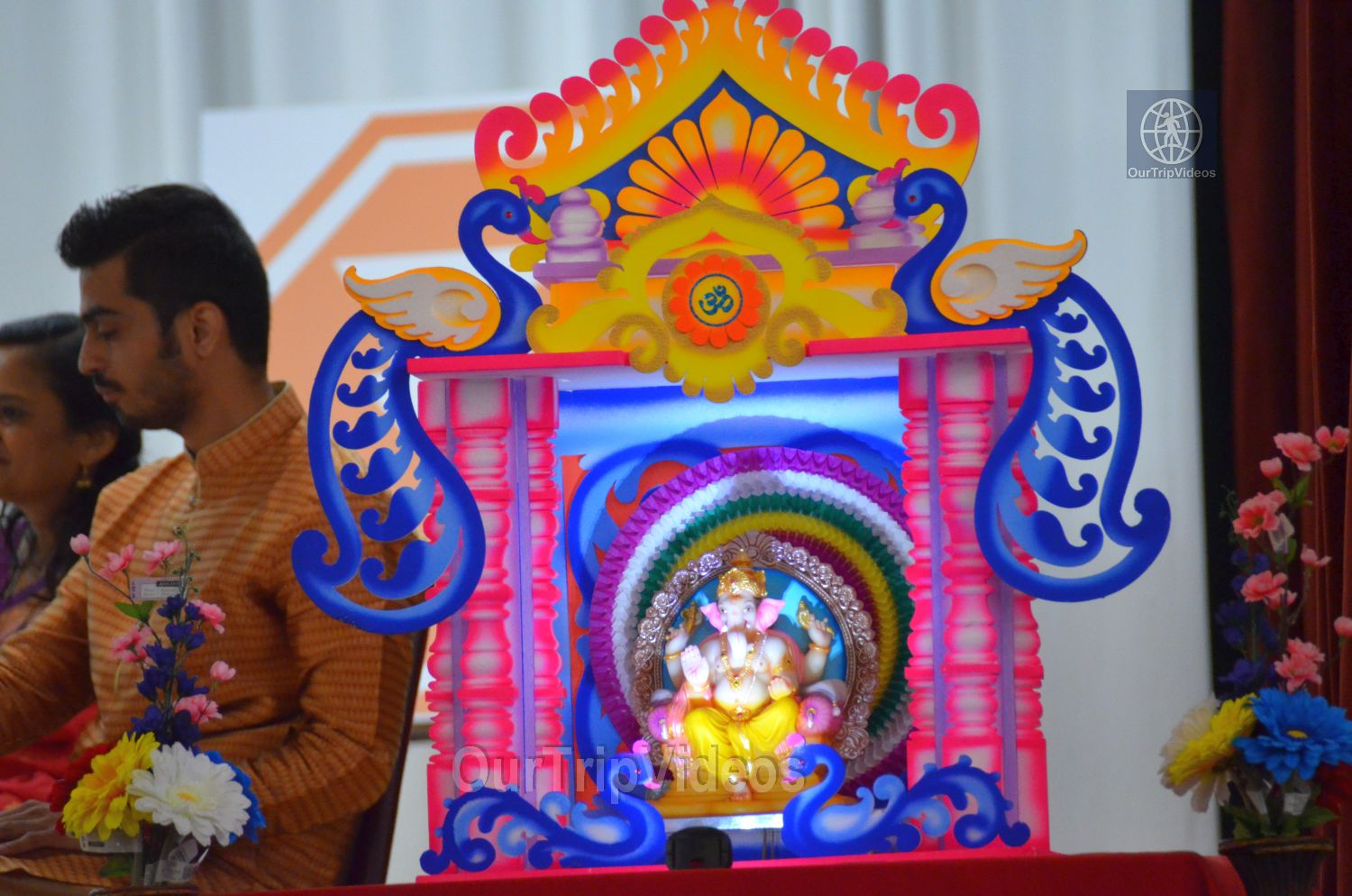 Ganeshotsav by Maharashtra Mandal Bay Area, Milpitas, CA, USA - Picture 7 of 25