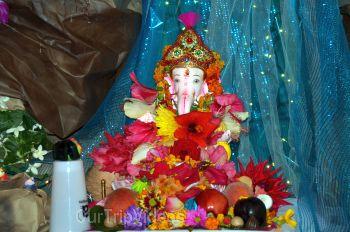Ganeshotsav by Maharashtra Mandal Bay Area, Milpitas, CA, USA - Picture 1