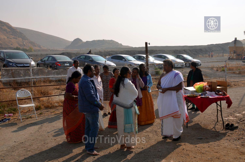 Gopashtami at Krishna Balaram Hasati Goshala, Milpitas, CA, USA - Picture 15 of 25