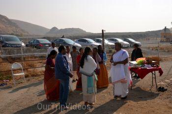 Gopashtami at Krishna Balaram Hasati Goshala, Milpitas, CA, USA - Picture 15