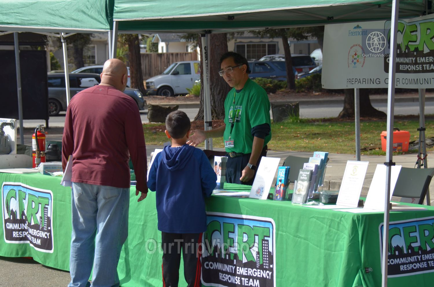 150th Celebration of 1868 Great Quake on Hayward Fault, Fremont, CA, USA - Picture 15 of 25