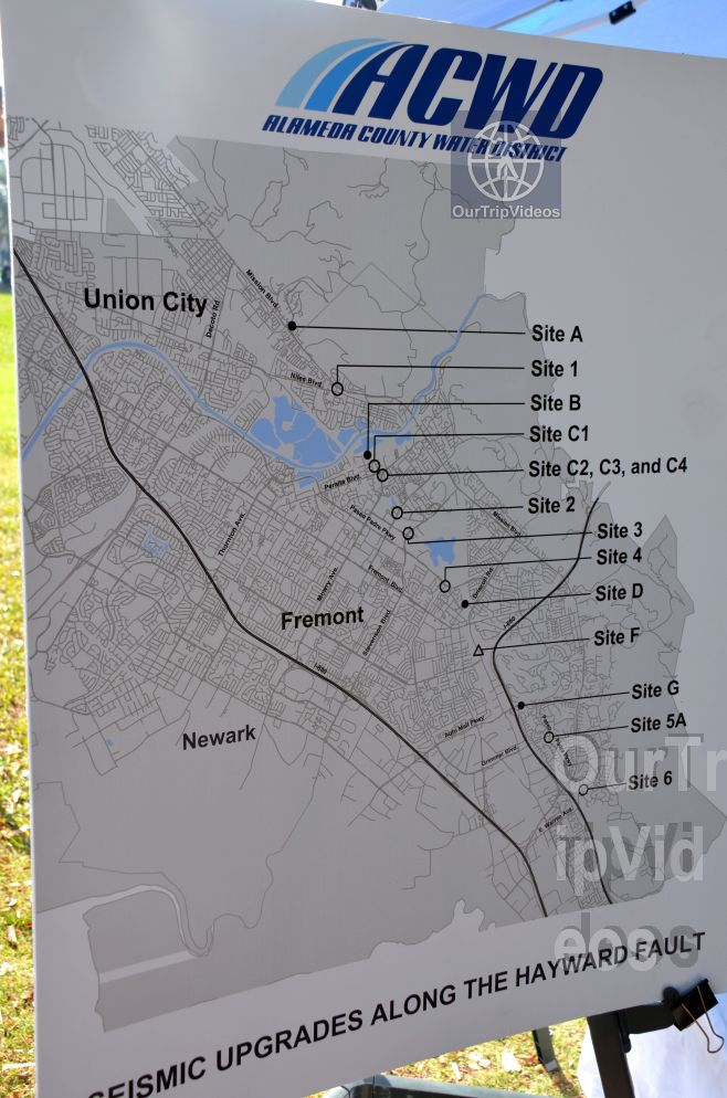 150th Celebration of 1868 Great Quake on Hayward Fault, Fremont, CA, USA - Picture 21 of 25