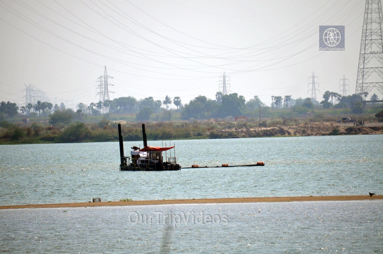 Pavitra Sangam of Krishna and Godavari rivers, Vijayawada, AP, India - Picture 8 of 25