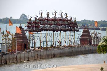 Pavitra Sangam of Krishna and Godavari rivers, Vijayawada, AP, India - Picture 15