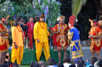 Pictures of Ramleela and Ravan Dahan Celebrations by Braj Theatre, Milpitas, CA, USA