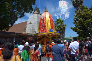 Pictures of Grand Jagannath Rath Yathra - Fremont Hindu Temple, Fremont, CA, USA