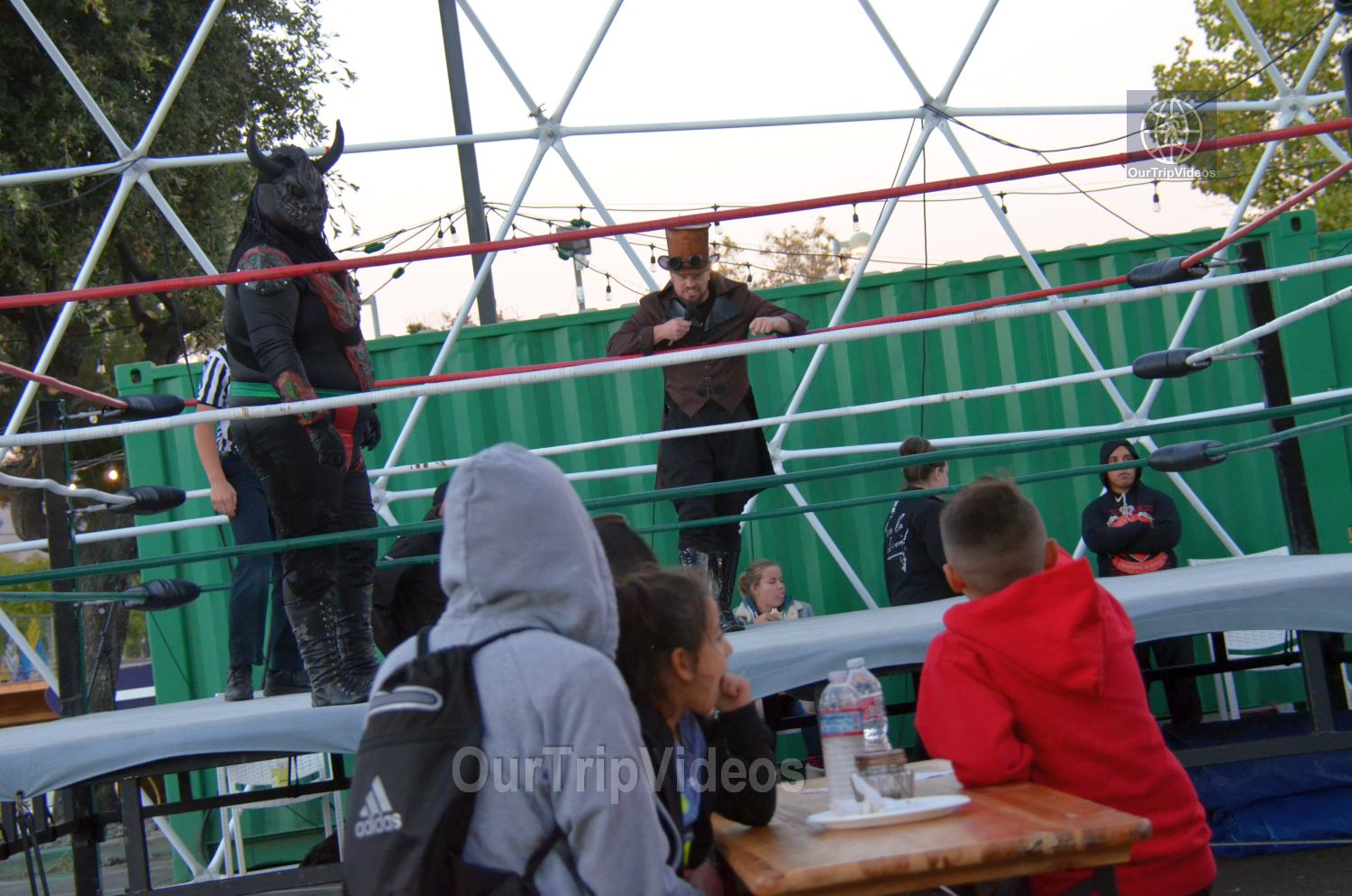 Throwdown at the Thunderdome (Luchador Wrestling), Fremont, CA, USA - Picture 1 of 25