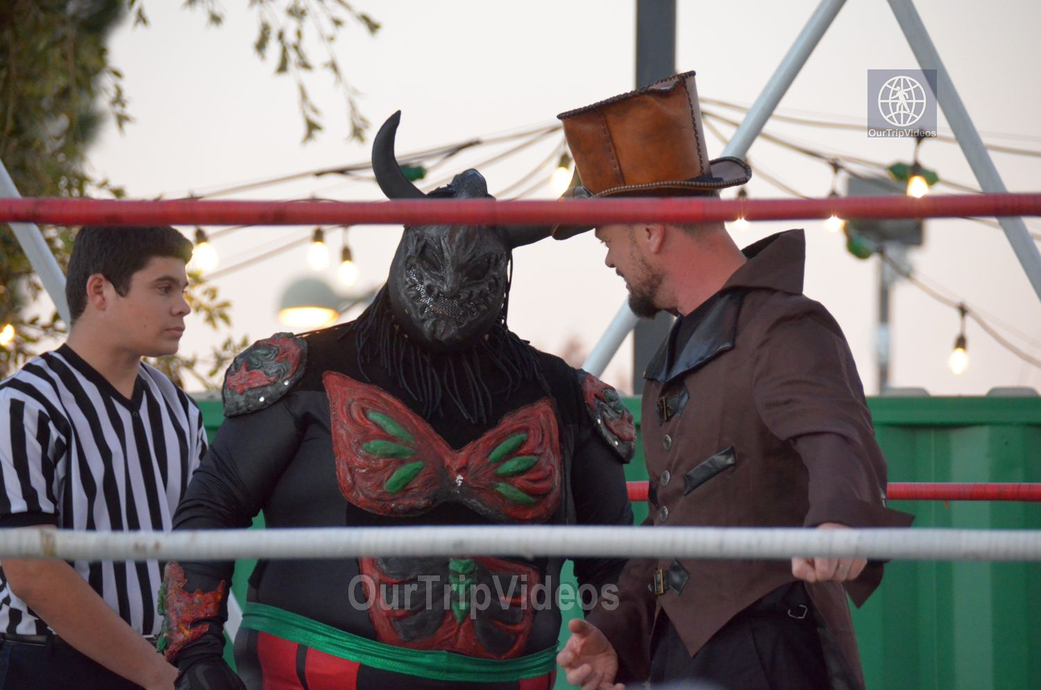 Throwdown at the Thunderdome (Luchador Wrestling), Fremont, CA, USA - Picture 2 of 25