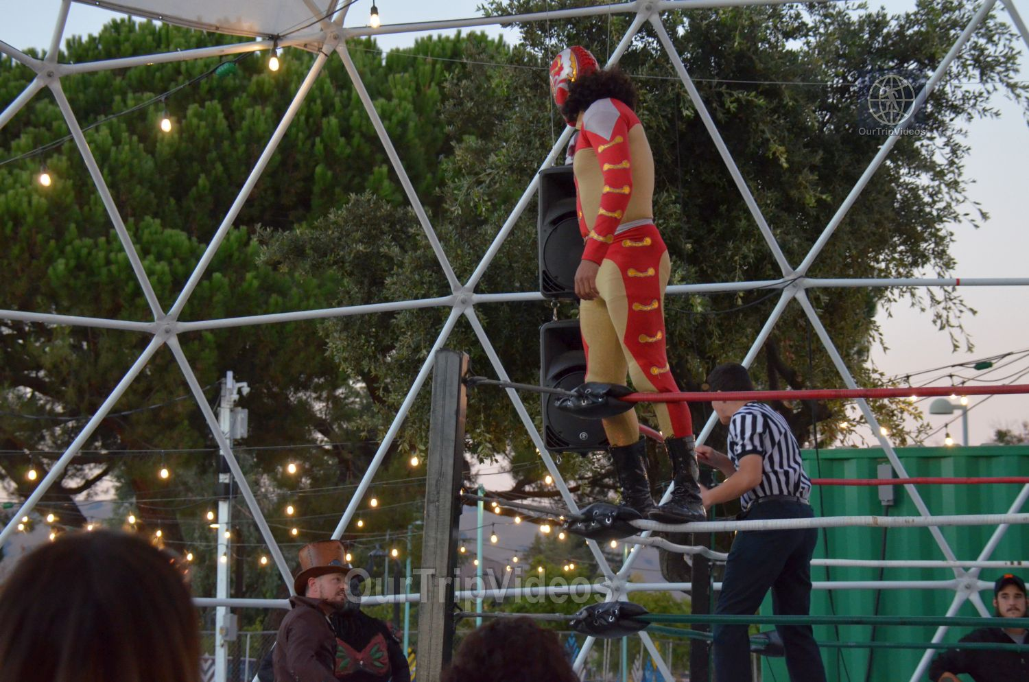 Throwdown at the Thunderdome (Luchador Wrestling), Fremont, CA, USA - Picture 4 of 25