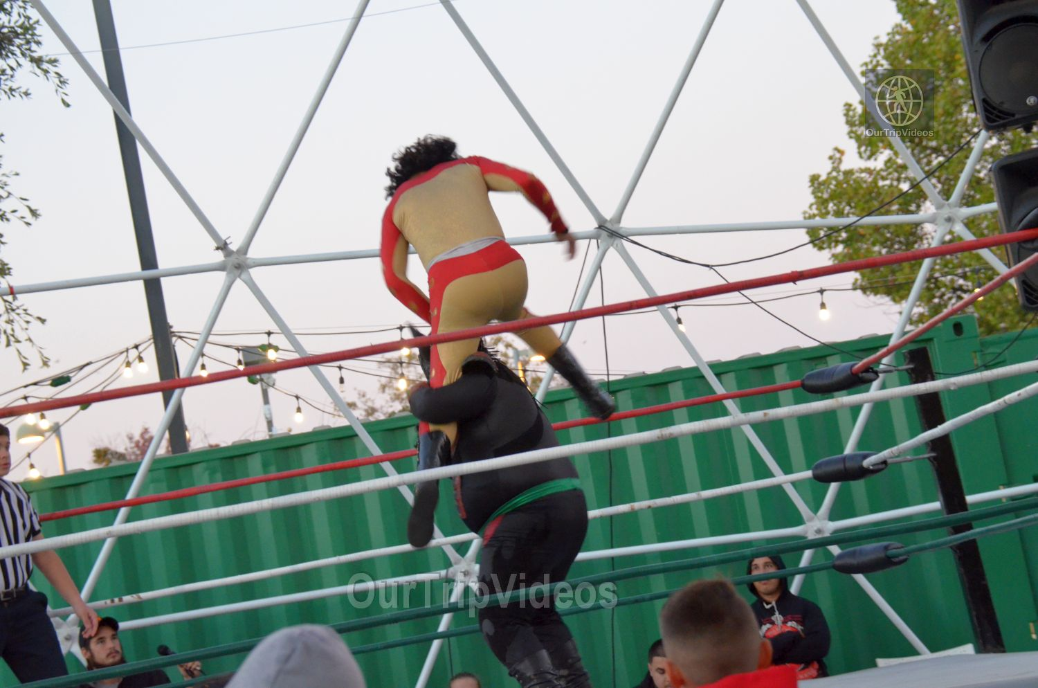 Throwdown at the Thunderdome (Luchador Wrestling), Fremont, CA, USA - Picture 6 of 25