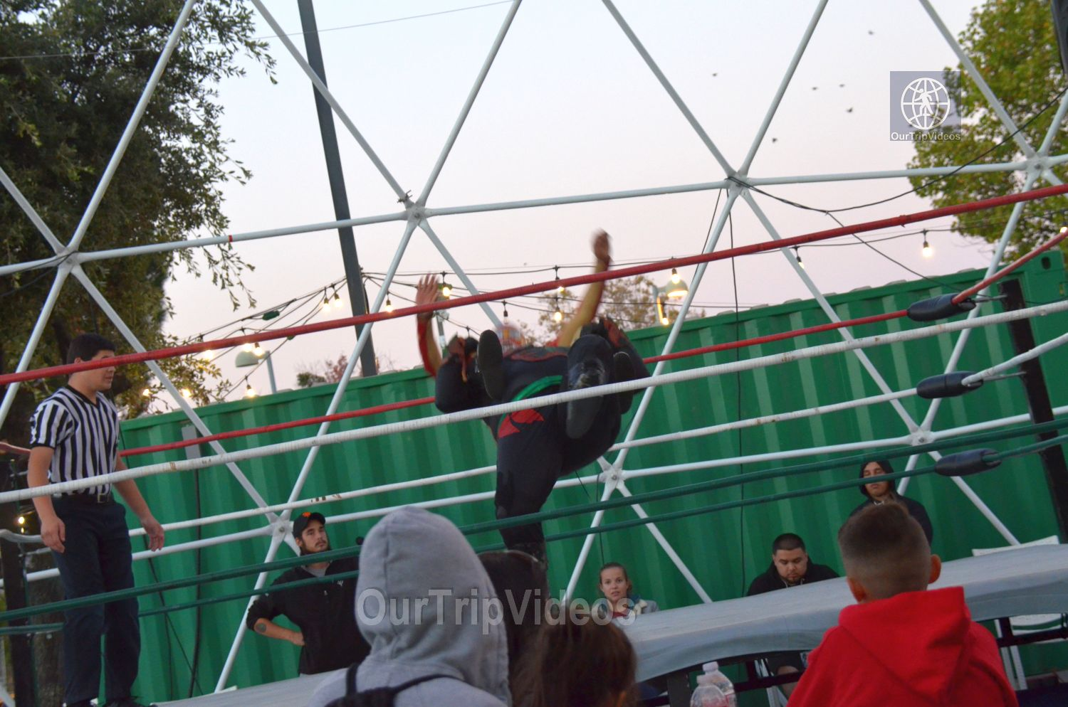 Throwdown at the Thunderdome (Luchador Wrestling), Fremont, CA, USA - Picture 8 of 25