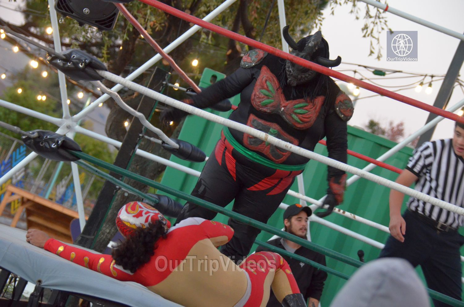 Throwdown at the Thunderdome (Luchador Wrestling), Fremont, CA, USA - Picture 9 of 25